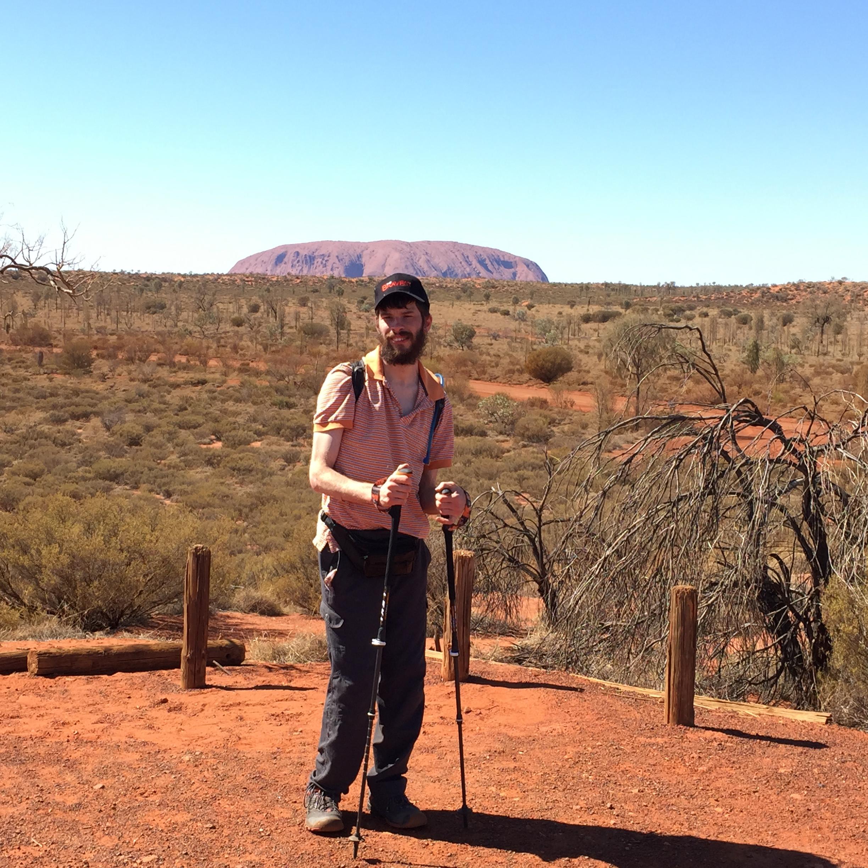 Andy Short @ Uluru