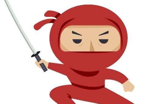 Ninja Red BG
